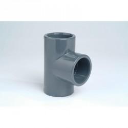 Té ⍉ 16 mm PN16 FFF à coller